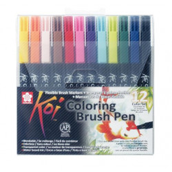 KOI COLOR PINCEL ESTUCHE 12