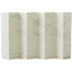 Mapamundi Blanco