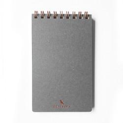 Cuaderno Bolsillo Gris