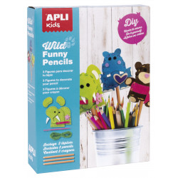 Wild funny pencils