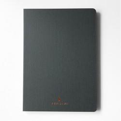 Cuaderno tapa dura A5 Gris