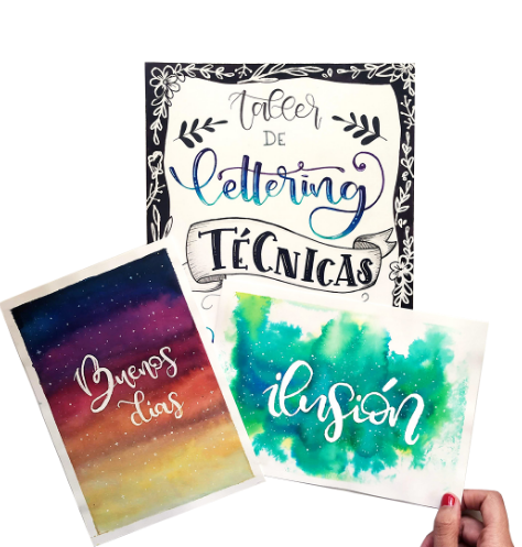 Lettering técnicas, illustración y manualidades